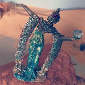4--Goddess Holding Light Ball